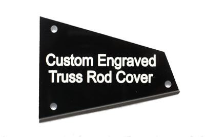 £10.79 • Buy Custom Engraved Barless Nut Truss Rod Cover For Ibanez Guitars With Access TRC