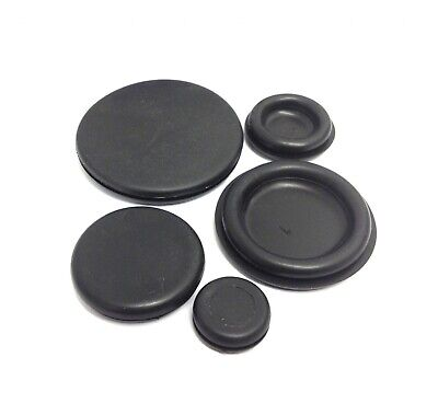 Blanking Grommets Rubber Grommet Closed Gromet Blind Plug Bung Bungs - All Sizes • 3.99£