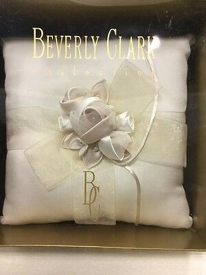 NEW Beverly Clark Ivory A'mour Ring Bearer Pillow • 14.35£