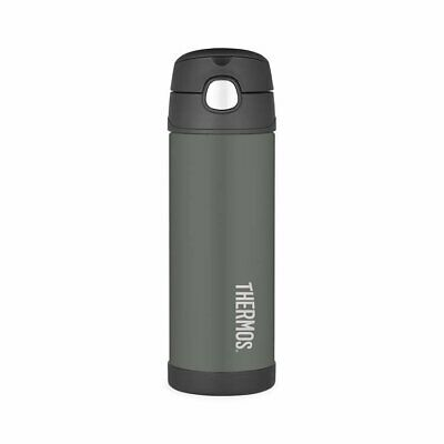 AU26.95 • Buy NEW Thermos Stainless Steel Vacuum Insulated Drink Bottle 470ml Charcoal (RRP $