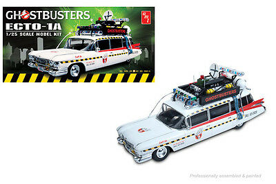Ghostbusters ECTO-1 Or ECTO-1A 1:25 Scale AMT Detailed Plastic Kit AMT750 • 31.99£