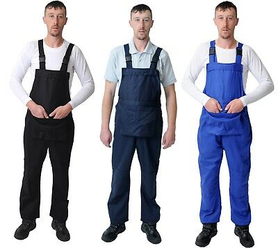 White Navy Men's Bib And Brace Overalls.  Dungarees Coveralls. Halloween Costume • 10.49£
