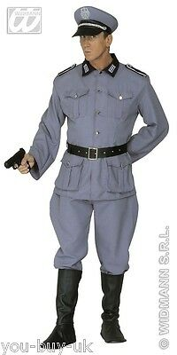 Adult Mens 1940s German Army Officer Soldier Uniform Military WW2 Costume Outfit • 38.75£