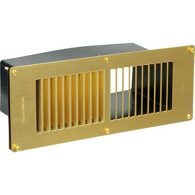 NEW 10 X Electrical Floor Vent Lacquered Brass Each FreePost.UK Seller • 159.93£