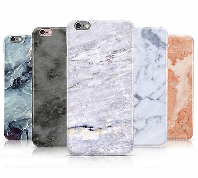 FAUX MARBLE EFFECT DESIGN HARD MOBILE PHONE CASE COVER FOR APPLE IPHONE 6s PLUS • 4.95£