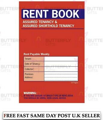 Rent Book Assured Tenancy And Assured Shorthold Tenancy Brand New Fast Post • 29.75£