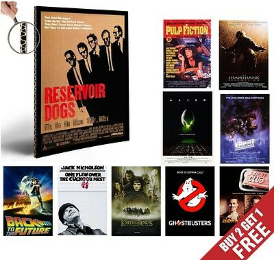 CLASSIC MOVIES Poster Options A4 80s 90s Film Home Wall Art Print Valentines Day • 3.99£