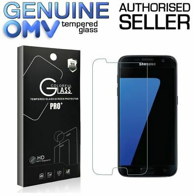 AU3.45 • Buy GENUINE Tempered Glass Screen Protector Tough Film For Samsung Galaxy S7 S7 Edge