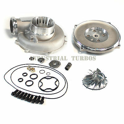AU526.81 • Buy ▄▀▄▀ FORD Powerstroke 7.3 TP38 Turbo 66/88mm Billet Compressor Wheel DIY Kit