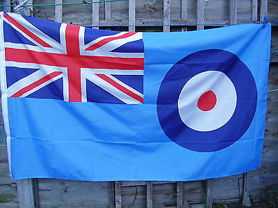 Royal Air Force/RAF Reserve/Cadets/ATC Full Colour Large Ensign Military Flag  • 8.99£