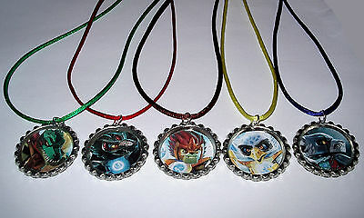 $10.99 • Buy 10 Lego Chima Necklace With Matching Color Cords Birthday Party Favors