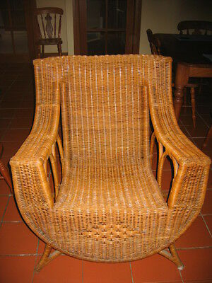 AU699 • Buy 2 Antique Cane Armchairs