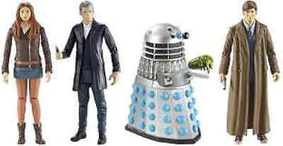 Doctor Who Action Figure 3 3/4 Inch Wave 3 BBC Amy Pond 12th 10th Classic Dalek • 29.99£