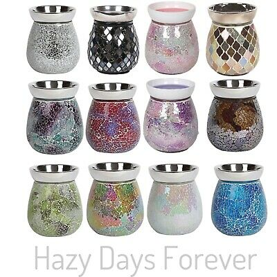 Electric Wax Melt Burner + YANKEE CANDLE TART Mosaic Oil Burner Warmer   • 20.99£
