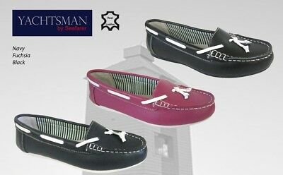 Ladies Seafarer Yachtsman Shoes  FREE POST Lady Deck Shoes  Boating • 21£