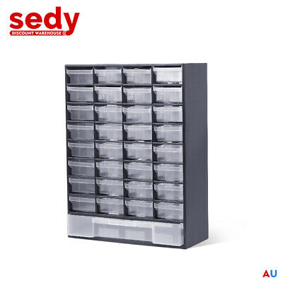 AU29.49 • Buy NEW 33 Drawers Storage Cabinet Tool Box Chest Case Plastic Organizer Toolbox Bin