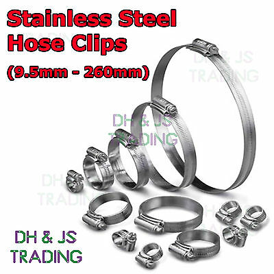 Stainless Steel Hose Clips Jubilee Clip Clips Pipe Clamps Marine - JCS Brand • 7.49£