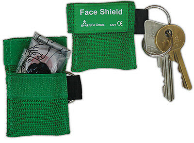 Resuscitation Cpr Face Shield In Key Fob - Emergency Mouth To Mouth • 1.99£
