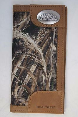 $44 • Buy ZEP-PRO Ole Miss Rebels REALTREE MAX-5 Camo Wallet ONLY NO BOX