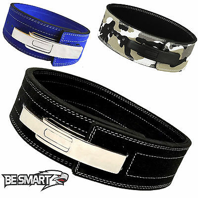 £28.04 • Buy Weight Power Lifting Leather Lever Pro Belt Gym Training Powerlifting