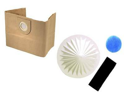 5 Dust Bags & Filter For VAX 6100 6121 6130 6131 6140 6150 6151 Vacuum Cleaners • 7.49£