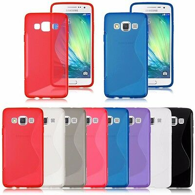 AU4.99 • Buy S Curved Soft Gel Case Cover For Samsung Galaxy J5 Prime | Galaxy J7 Prime Case