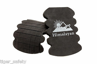 Himalayan Impact Black Foam Kneepads Knee Pad Inserts Fits All Work Trousers PPE • 8.35£