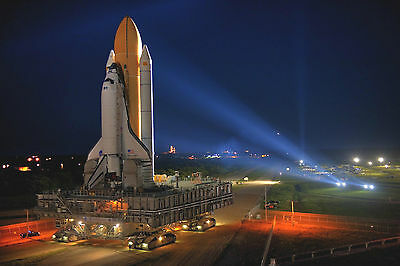 Space Shuttle Poster 4 (4 Sizes A5-a4-a3-a2) + A Free Surprise A3 Poster /rocket • 12.99£