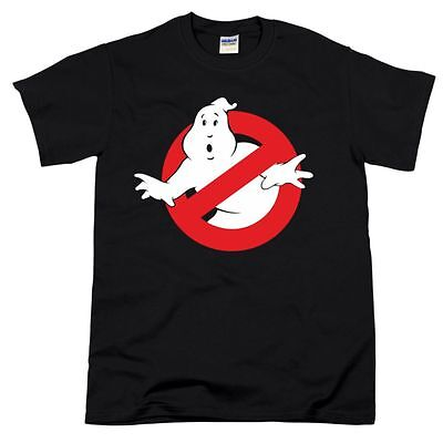 Ghostbusters Movie Inspired Funny Retro Sign Ghost Busters Fan Gift Mens Tshirt • 7.99£