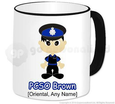 £10.29 • Buy Personalised Gift - Male Police Community Support Officer PCSO Mug Present #4