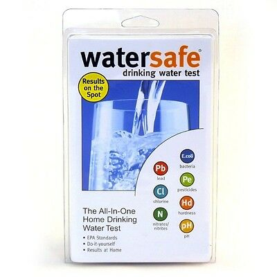 WaterSafe All-In-One Drinking Water Bacteria Lead Pesticides Test Testing Kit • 14.42£