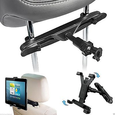 Adjustable Universal In Car Headrest Seat Mount Holder For IPad Tablet 7  To 11  • 8.45£