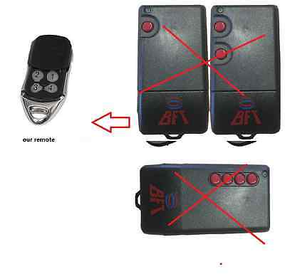 AU22.40 • Buy 2 X BFT TRC TRC1 TRC2 TRC4 Compatible Garage Gate Remote Control 433.92 4 Button