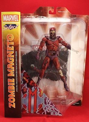 Zombie Magneto Marvel Select Villain Zombies Action Figure - UK Seller • 34.99£