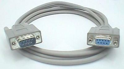 £5.38 • Buy Serial Extension Cable, 9-pin D-type Male To 9-way Female, Straight-wired, 2M