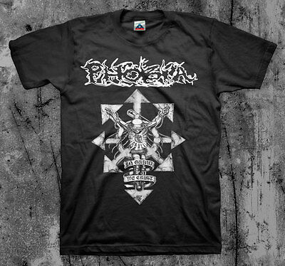 $15 • Buy PHOBIA 'In Grind We Crust' T Shirt (Wormrot Napalm Insect Warfare Magrudergrind)