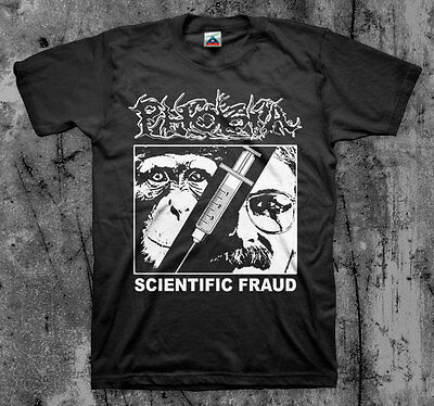 $14 • Buy PHOBIA 'Scientific Fraud' T Shirt (Wormrot Napalm InsectWarfare Magrudergrind)