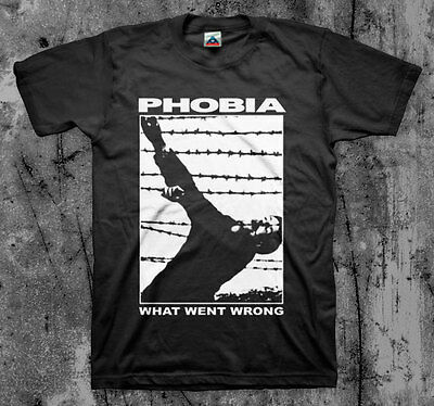$15 • Buy PHOBIA 'What Went Wrong' T Shirt (Napalm Wormrot Insect Warfare Magrudergrind)