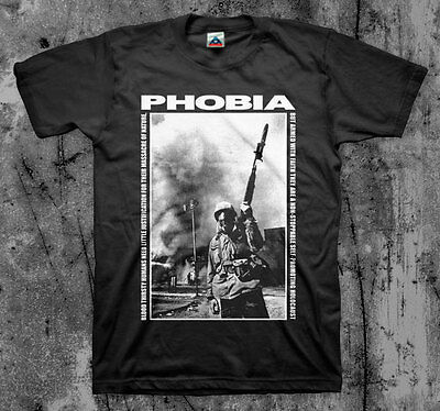 $14 • Buy PHOBIA 'Soldier' T Shirt (Napalm Wormrot Insect Warfare Magrudergrind)