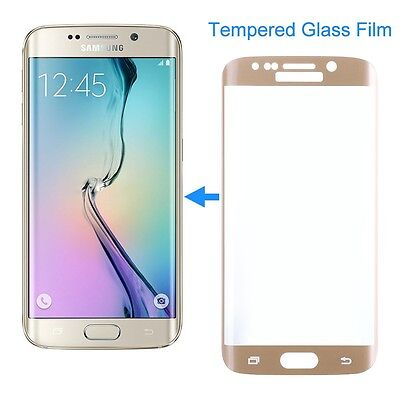 $ CDN4.54 • Buy Gold SAMSUNG GALAXY S7 EDGE FULL CURVED 3D TEMPERED GLASS SCREEN PROTECTOR FILM