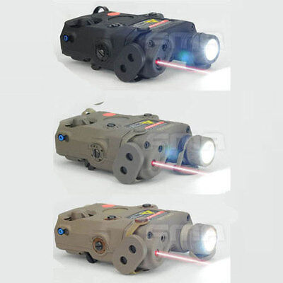 FMA PEQ-15 LED White Light Red Laser With IR Lens Upgrade Version • 30.99£