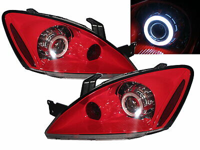 $303.99 • Buy LANCER CH/LS/ES/RALLIART/CEDIA 03-07 Projector Headlight Red For Mitsubishi LHD