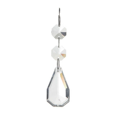 £13 • Buy Spare Replacement Crystal Effect Chandelier Droplet 2 Small 1 Medium Litecraft