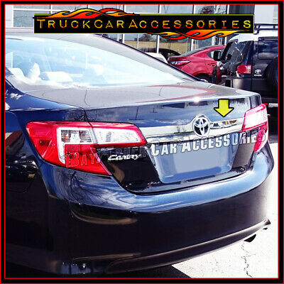 $38.50 • Buy For TOYOTA Camry 2012 2013 2014 Chrome Tailgate Liftgate Logo Outline Trim Cover