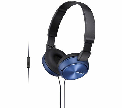 SONY MDR-ZX310APL Headphones - Blue - Currys • 14.99£