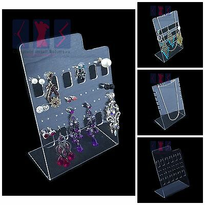 £8.99 • Buy Luxury Acrylic Counter Top Stud Earring Display Stand For Retail & Market Stall