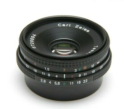 $279 • Buy Contax 45mm F2.8 Zeiss Tessar T* Manual Focus Lens   20898