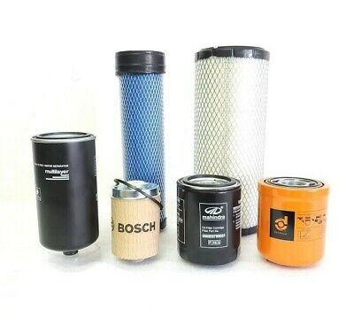 $176 • Buy Filter  Pack Of 6  For Mahindra Tractor   2538 Hst / Hst Cab / Hst Os