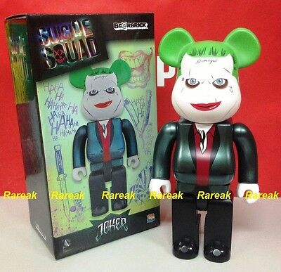 $157.99 • Buy Medicom 2016 Be@rbrick DC Comics Joker Suicide Squad 400% Bearbrick Batman