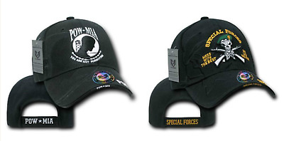 09bf5ae41a Military US Special Forces Green Beret POW MIA Vietnam Veteran Baseball Cap  Hat • 17.99